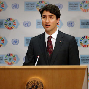 Justin Trudeau, Global Smarmer