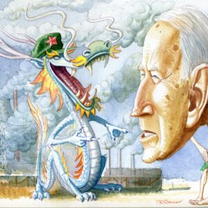 The Cartoon: Genocide Joe and the Climate-Change Dragon