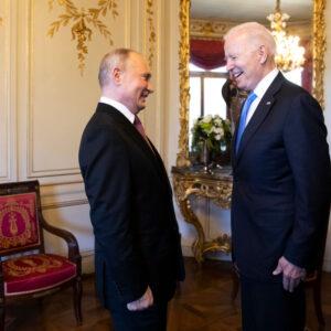 Unlike Trump, Biden Puts Moscow First